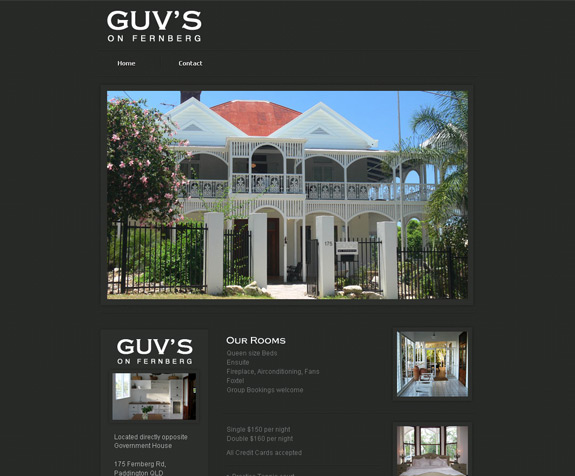Guv's on Fernberg Bed & Breakfast